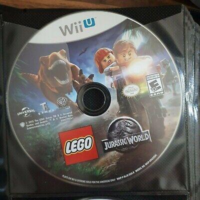 LEGO Jurassic World - ( Nintendo Wii U ) Tested