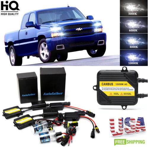 AC CANBUS HID Xenon 9005 H11 Error Free Headlight For Chevy Silverado 1500 2500