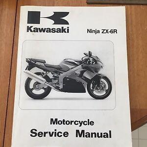 1999 Kawasaki zx 6 r manual