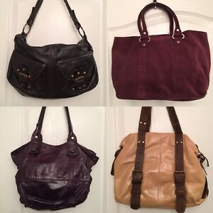 Genuine Leather Handbags - $30 or 4/$100
