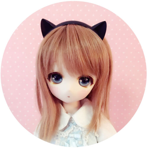 PF Black Cat Ears Are 1//3 SD DZ DOD MSD DZ AOD BJD Dollfie Baby Clothes