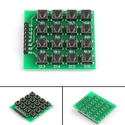5pcs 4x4 Matrix 16 Keypad Keyboard Module 16 Buttons Mcu For Arduino Usa