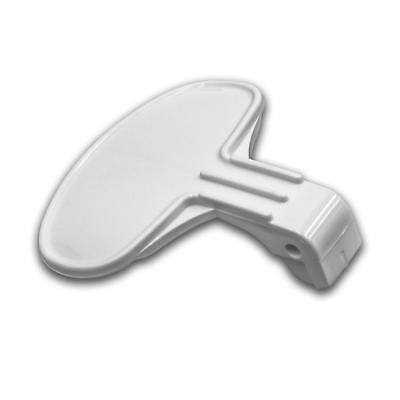 Türgriff weiß für Hoover KIT H66T CKD, Nextra H45TCKD, OHFN4117, PPW166-80 ()