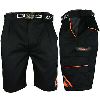 Arbeitshose Kurze Hose Bermuda Shorts Schwarz Gr. S - XXXL Neu