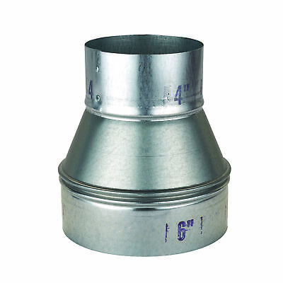 Oneida Air Systems Metal 6 To 4 Reducer Dust Collection Fitting