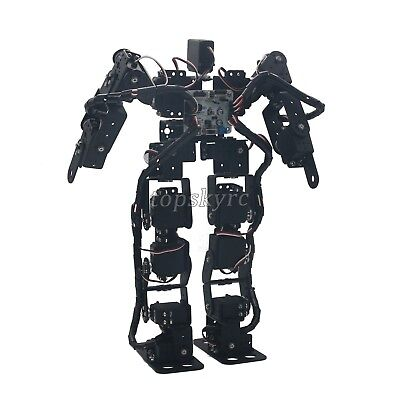 17DOF Biped Robotic Educational Robot Kit Servo Bracket Ball Bearing top USA ## for sale  USA
