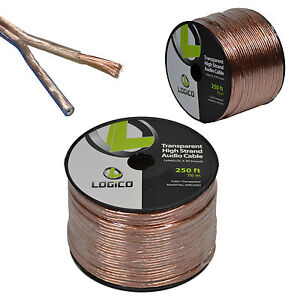 Car-Home-Audio-Speaker-Wire-14-Gauge-250-ft-Audio-Speaker-Cable-14AWG-250