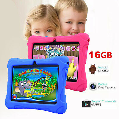 7 Inch Kids Tablet Android Dual Camera WiFi Education Game Gift for Boys Girls