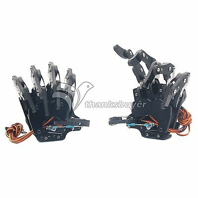 Robot Mechanical Claw Clamper Gripper Arm Five Fingers Rightleft Hand Assembled