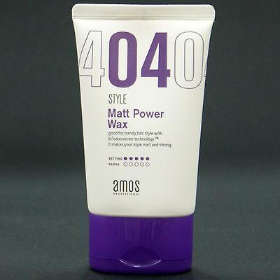Amos Professional Style Matt Power Hair Wax Styling Men 110ml