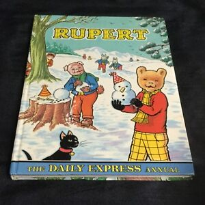 💛 'RUPERT' VINTAGE 'THE DAILY EXPRESS' ANNUAL 1974. 💛