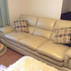 Leather 3 seat lounge Westbury Meander Valley Preview