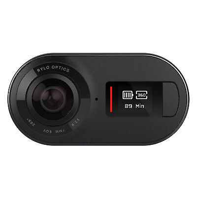 Rylo 360 Degree 5.8K Video Camera, Breakthrough Stabilization - Black