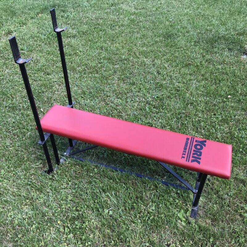York Barbell Standard Weight Bench 1980