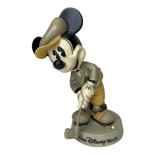"Vintage Walt Disney World Mickey Mouse Golf Bobblehead Bobble Head 8.5"""