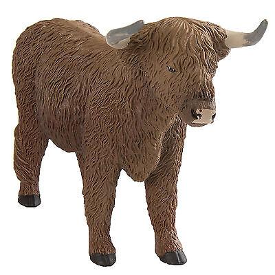 Highland Bull Wild Safari Figure Safari Ltd NEW Toys Figurine Animal (Bull Animal Figure)