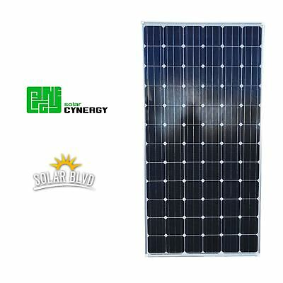 New Solar Cynergy 320W Watts 24V Volts Monocrystalline Solar Panel Made In USA
