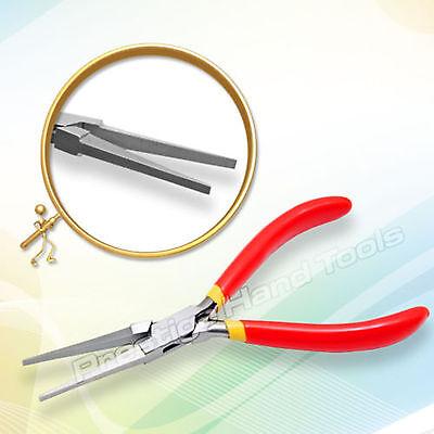Pinze naso piatto Lungo strumenti per la creazione di gioielli Prestige 16.5cm