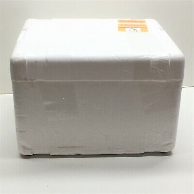 Thermo Safe Styrofoam Refrigerated Insulated Shipping Box Container 14 X 13 X 10