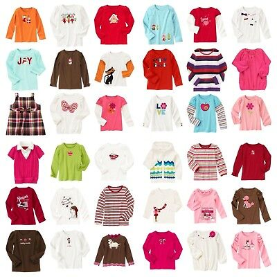 NWT Gymboree Fall/Winter ++  LS Top 3 4 5 6 7 8 9 10 12 yrs Many Lines Choose
