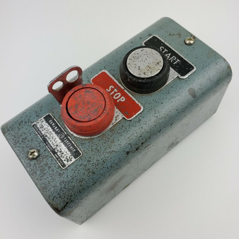 CR2940 GE Push Button Station Heavy Duty Industrial Switch