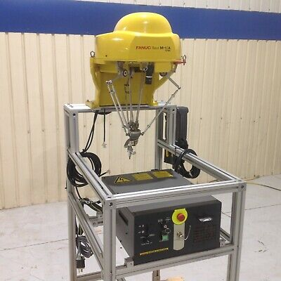 Fanuc M-1ia0.5a Pick And Place Robot System R-30ia Mate Controller Pendant
