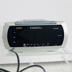 Emerson Research SmartSet Dual Alarm Clock Radio CKS3088 Touch Pad Lamp Control