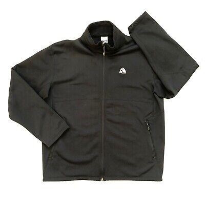 Nike Fit Therma ACG Fleece Full Zip Jacket Black Mens XL