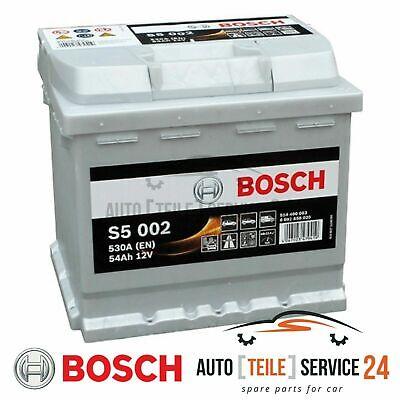 Bosch Starterbatterie S5 002 Auto batterie Akku 530A 54Ah für Alfa Romeo Audi VW
