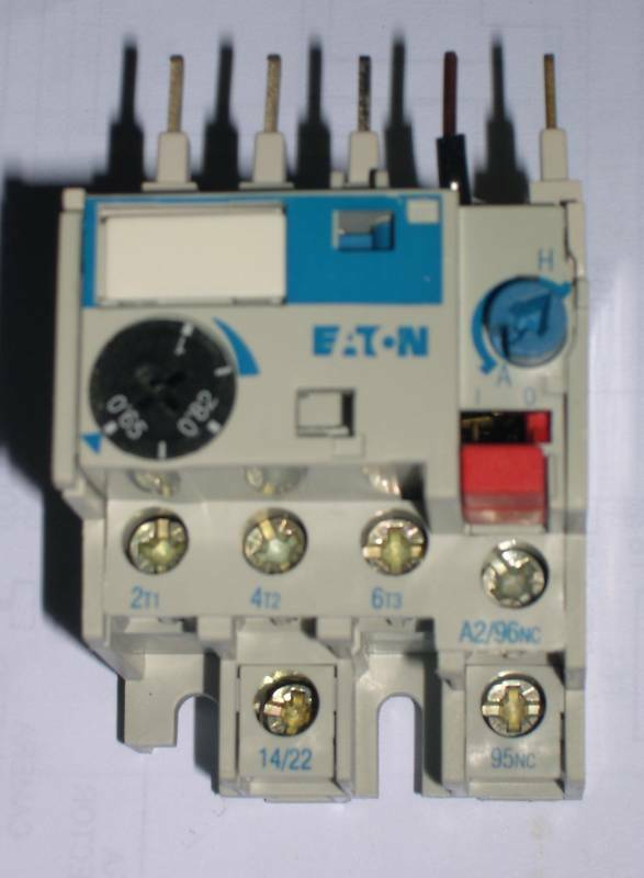 CUTLER HAMMER, C314AN3E, THERMAL OVERLOAD RELAY