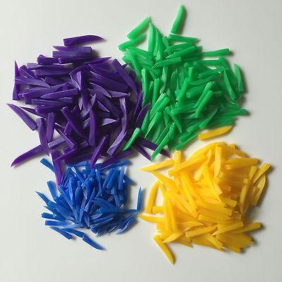 400pcs Dental Disposable Teeth Diastema Wedges Denture Material 4 Sizes