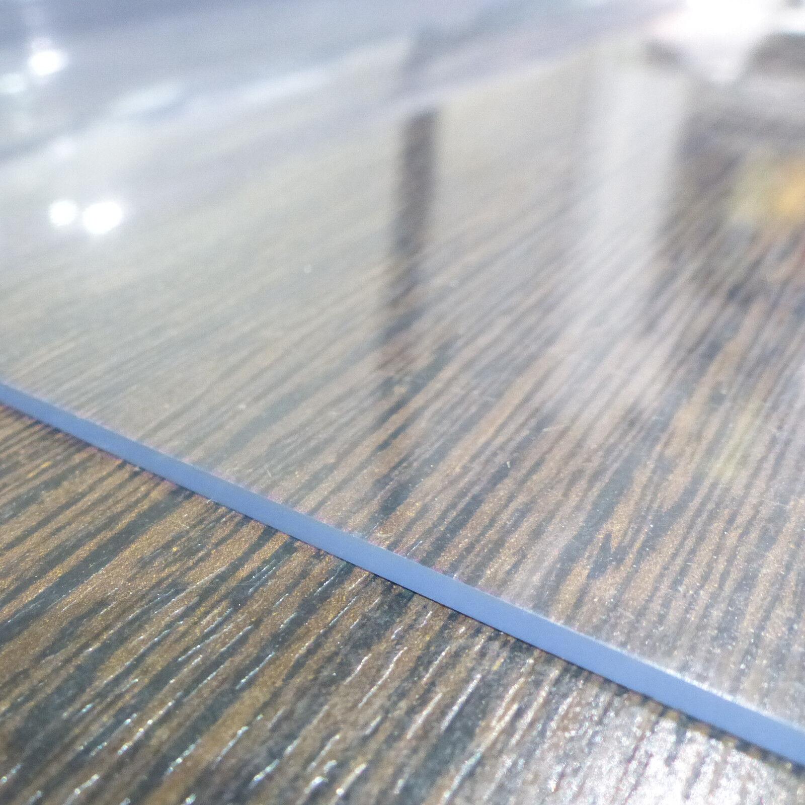 tischfolie pvc 2mm tischdecke schutzfolie transparent 80cm90cm100cm120cm breit eur 10 10. Black Bedroom Furniture Sets. Home Design Ideas