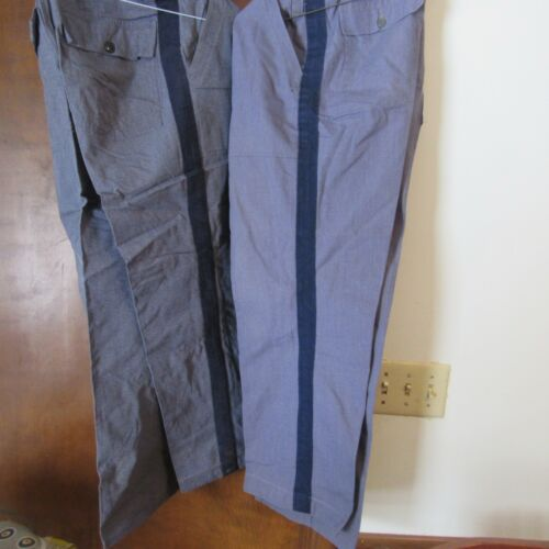 Vintage Michigan State Police Fatigue Trousers
