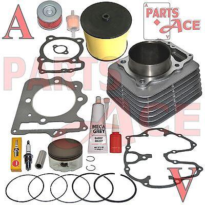 Honda Xr400r XR 400R Cylinder Piston Rings Gasket Top End Kit Set 1996-2004