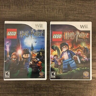 LEGO HARRY POTTER COLLECTION YEARS Nintendo Wii FREE SHIPPING Complete Box CIB