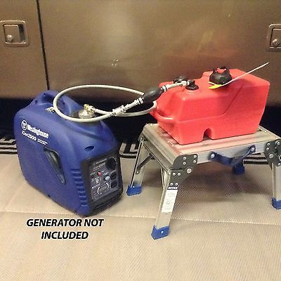 Westinghouse Igen 2500 Inverter Generator 3 Gallon Extended Run Fuel System