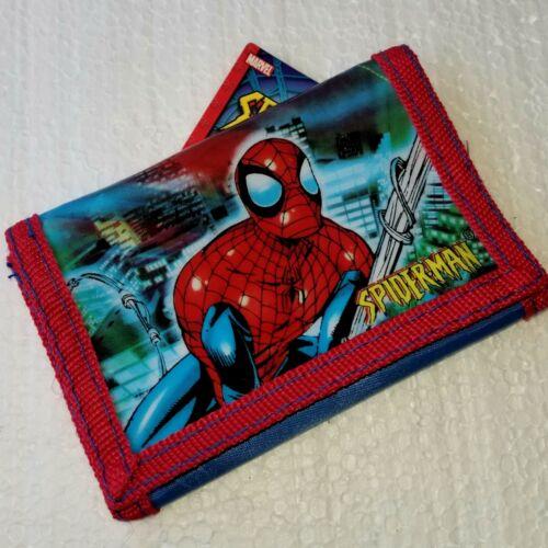 Marvel Spiderman Superhero Comic Trifold Light Wallet for your Little Hero!