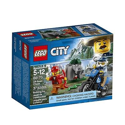 LEGO® City Off-Road Chase Building Set 60170 NEW Toys IN STOCK