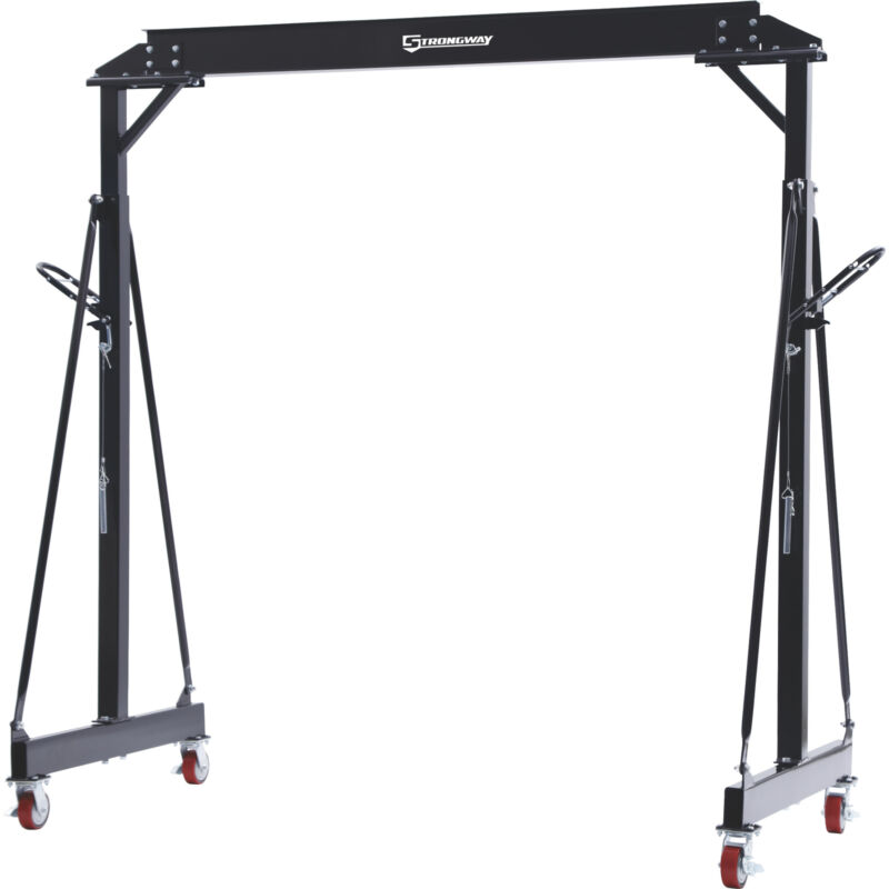Strongway Adjustable Gantry Crane- 4000-Lb. Capacity