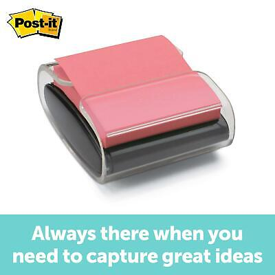 Post-it Pop-up Note Dispenser Black Designed To Work With Post-it Pop-up