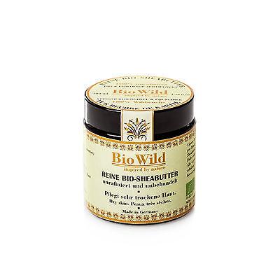 Reine Bio Sheabutter Shea Butter 100% unraffiniert  Bio-Zert. Handmade  100ml