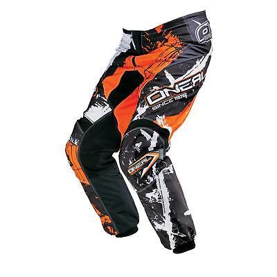 ONeal Element MX Hose SHOCKER Orange Moto Cross Enduro Motorrad Mountainbike MTB