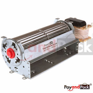Details about Universal Blower (Motor at right) Only for Wood / Gas