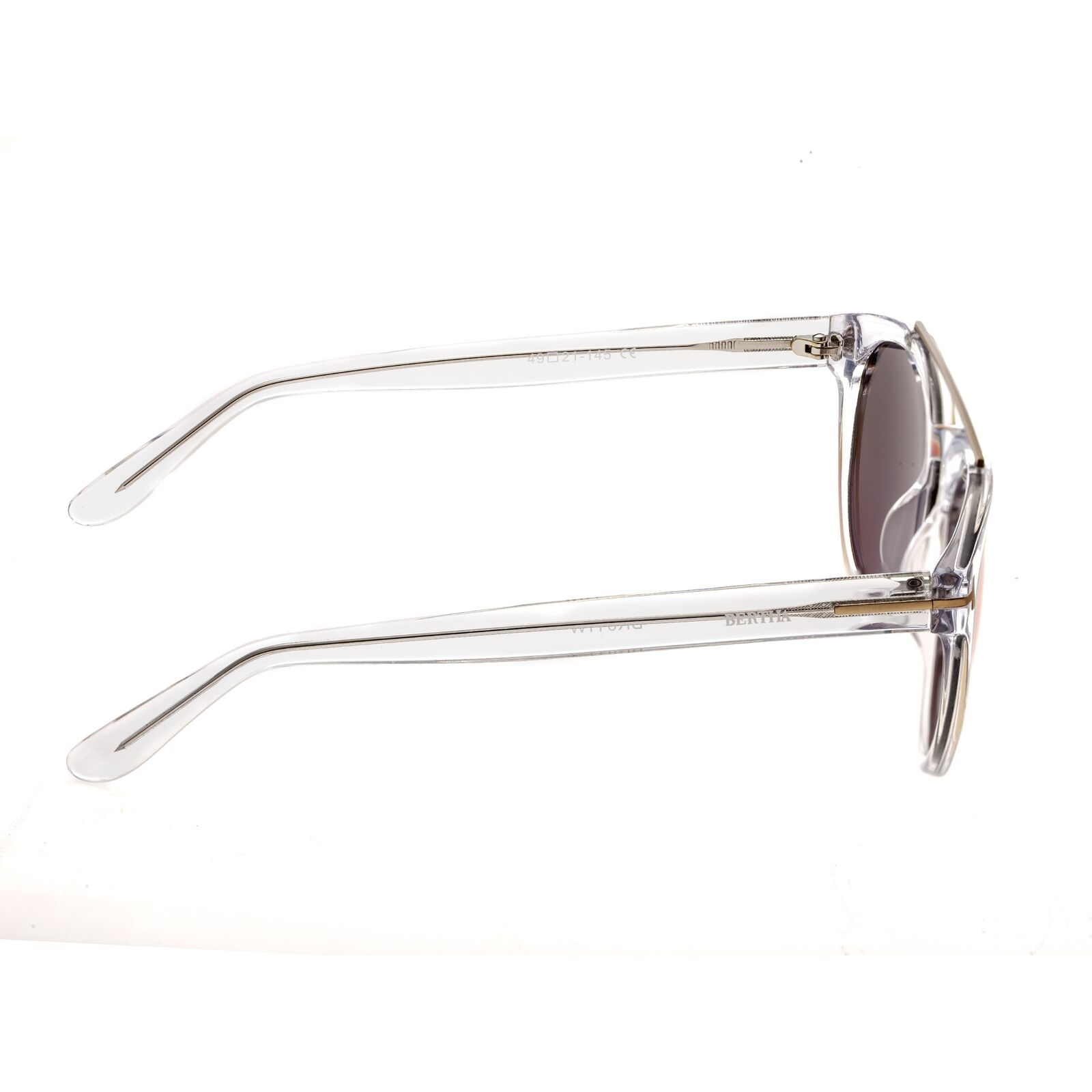Details about Bertha Ava Clear Polarized Rose Gold Lens Women's Sunglasses BR011W