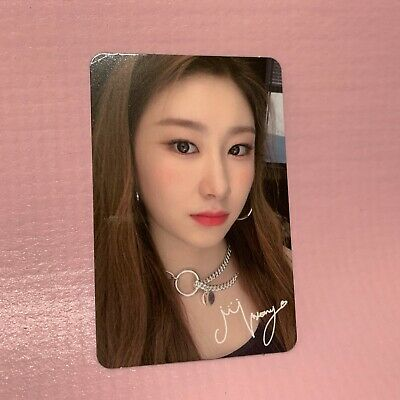 ITZY CHAERYEONG Official PHOTOCARD Only 1st Mini Album IT