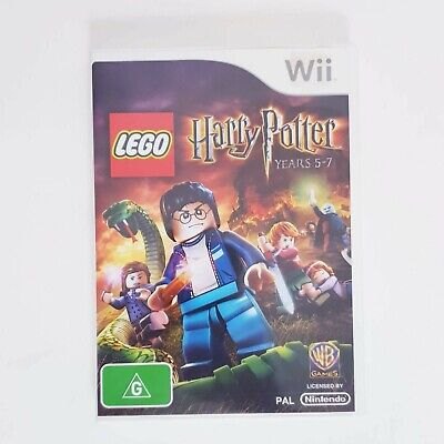 Nintendo Wii - LEGO Harry Potter Years 5-7 + Manual Free Postage