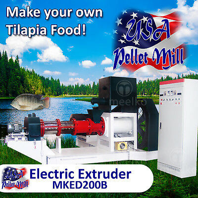 Electric Extruder for Tilapia Food - MKED200B (USA)