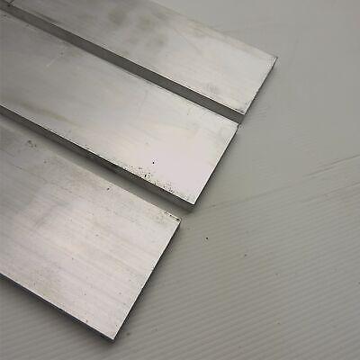 ".75/"" x 5/"" Aluminum 6061 FLAT BAR 8.125/"" Long new mill stock QTY 3 sku 175521"
