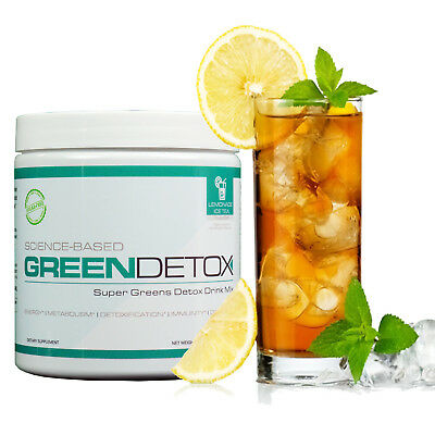 - | Green Detox Super food drink mix | Lemon Tea flavor | 30 servings