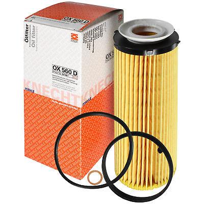 Aftermarket Ersatz Filter (Original MAHLE / KNECHT Ölfilter OX 560D Oil Filter)